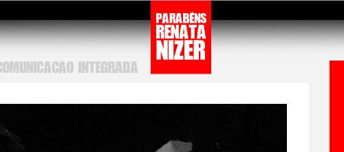 Homenagem à nossa gerente de contas Renata Nizer.