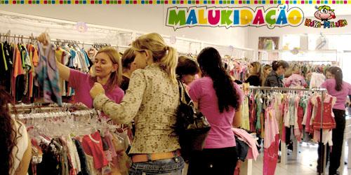 Malukidação: loja cheia o dia inteiro
