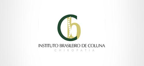 Logomarca do Instituto Brasileiro de Coluna - Guarapuava.
