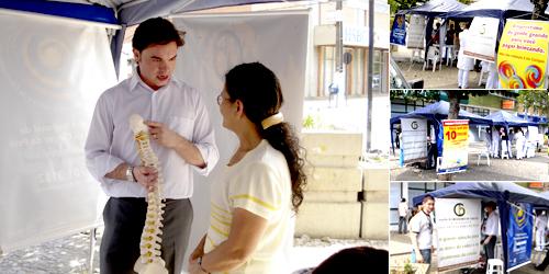 Dr. Fábio Sguissardi explicando a técnica