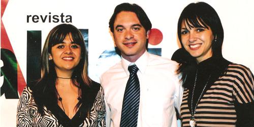Tatiana, Dr. Fábio e Renata
