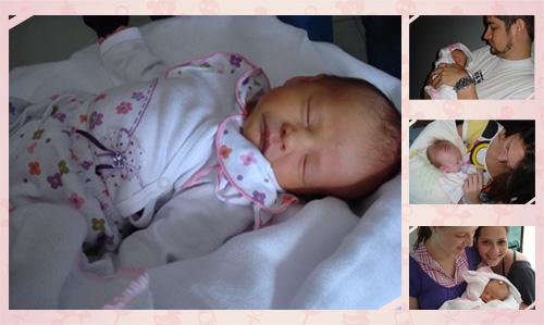 Helena com 3 meses