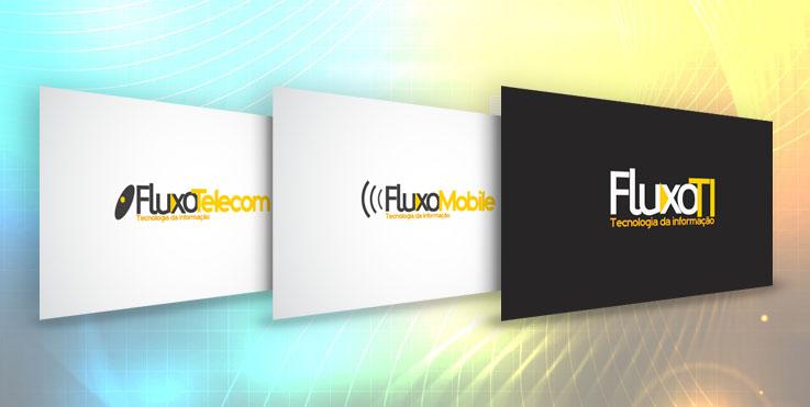 Logos serviços da Fluxo TI